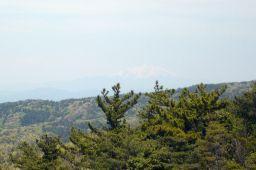 元岩巣山より御嶽山の写真