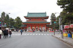 平安神宮の入口の写真
