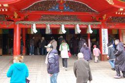 成田山不動尊の本殿の写真