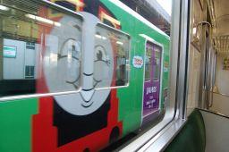 機関車トーマス号の写真